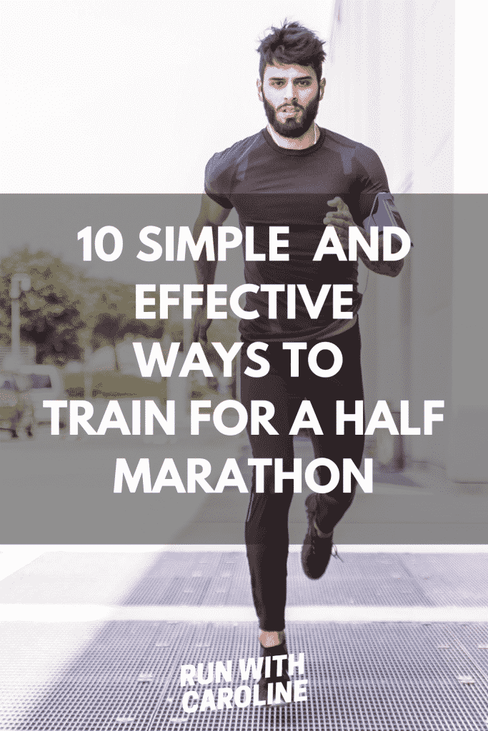 ways to train for a half marathon
