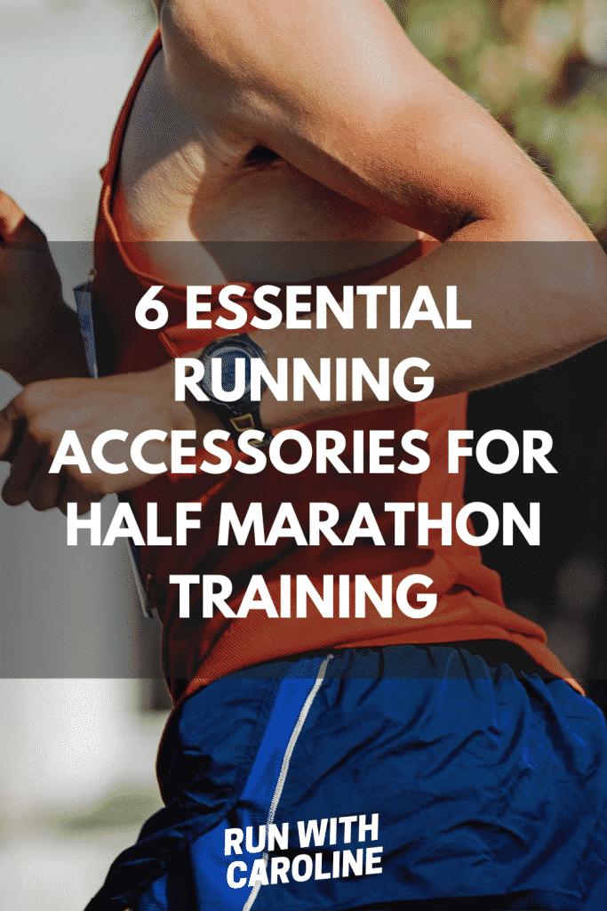 running accessories for half marathon training