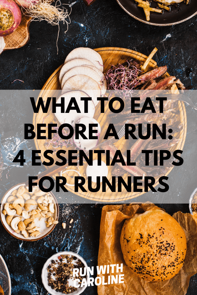 what to eat before a run