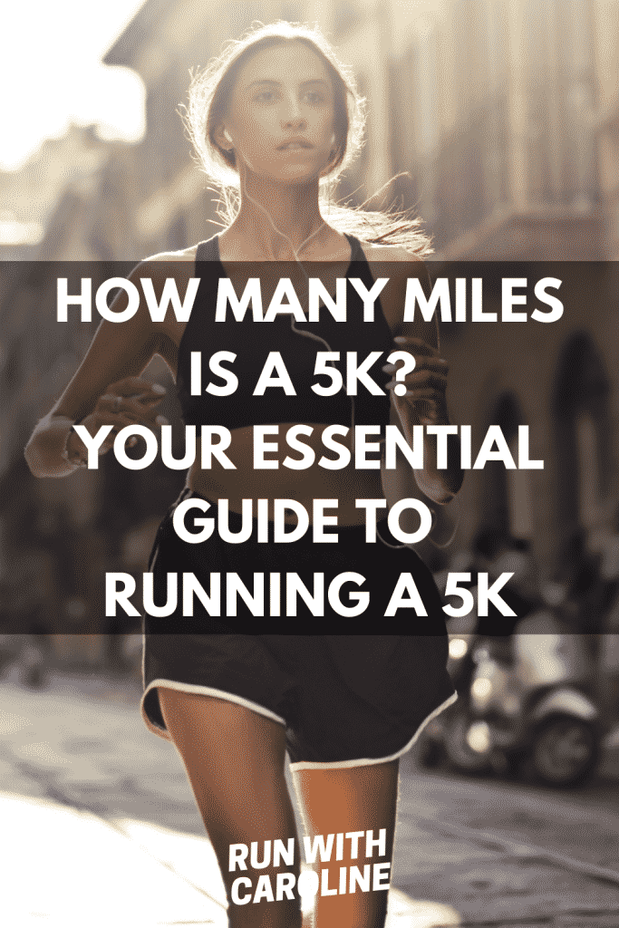 how many miles is a 5k