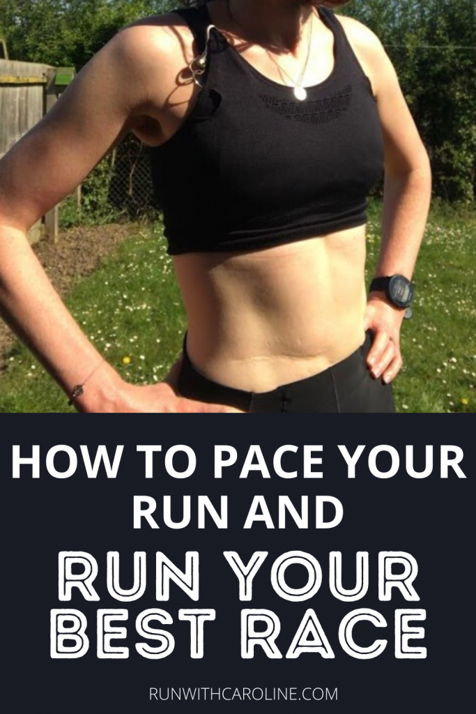 how to pace your run