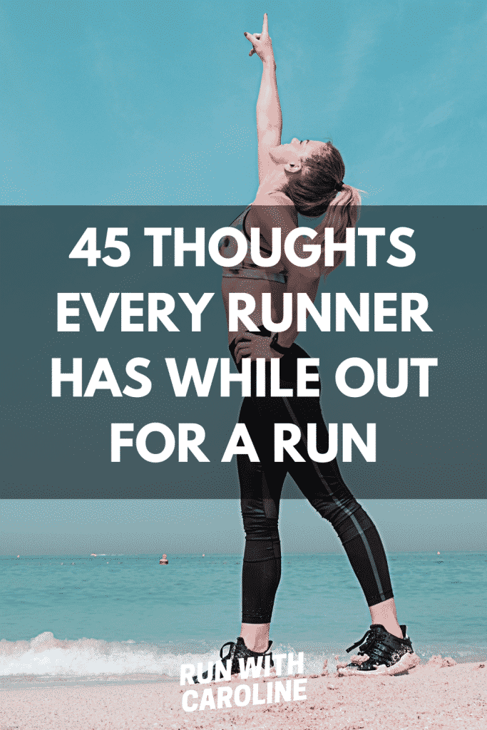 thoughts while running