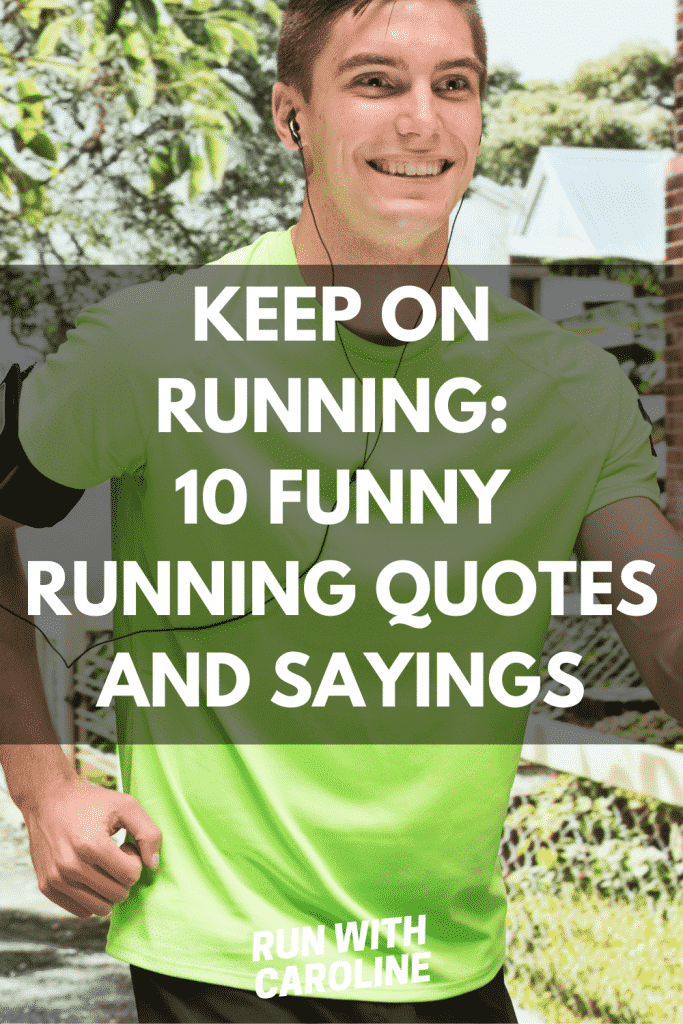 funny running quotes and sayings