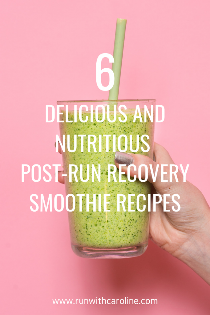 smoothie recipes for runners