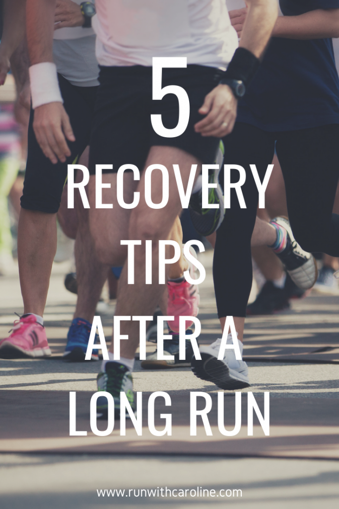 recovery tips after a long run
