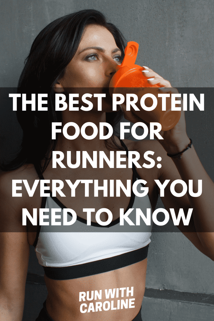 the best protein food for runners