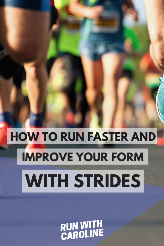 how to run strides