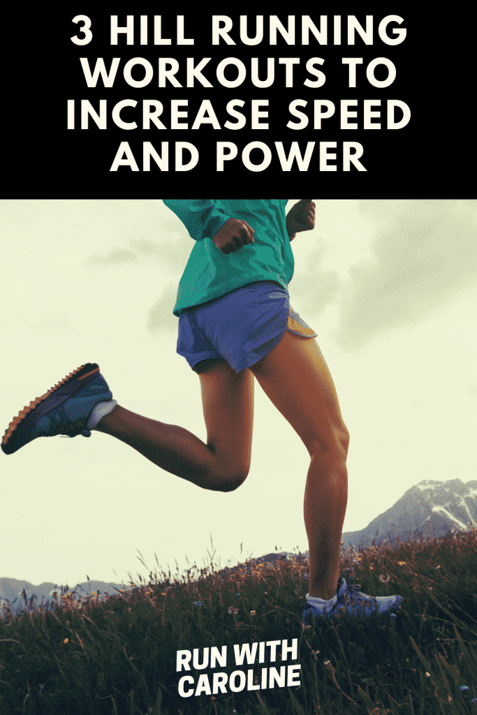 hill running workouts that increase speed and power