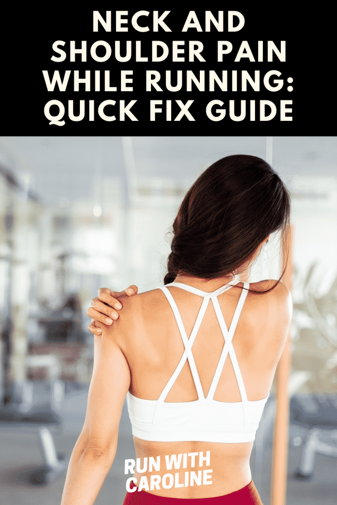 neck and shoulder pain while running