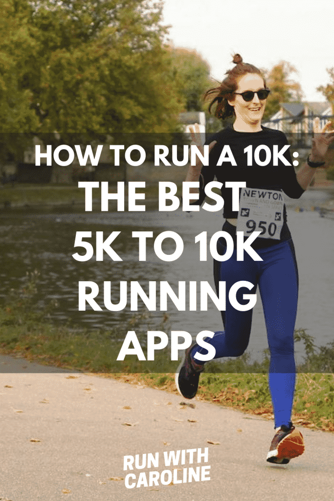 the best 5k to 10k running apps