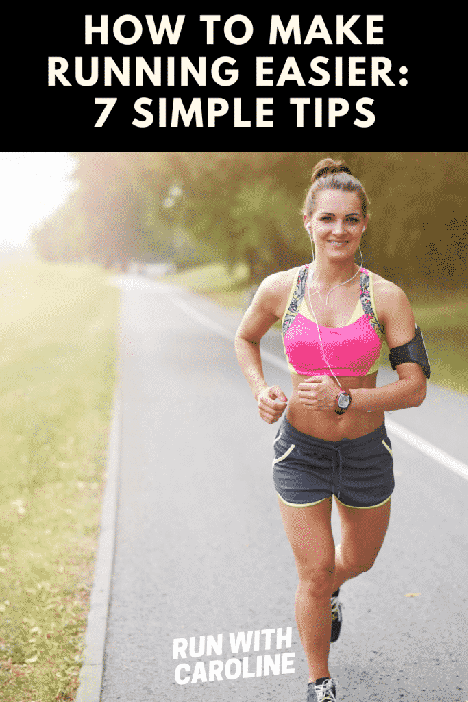 how to make running easier