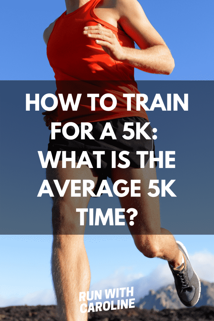 what is the average time to run a 5k