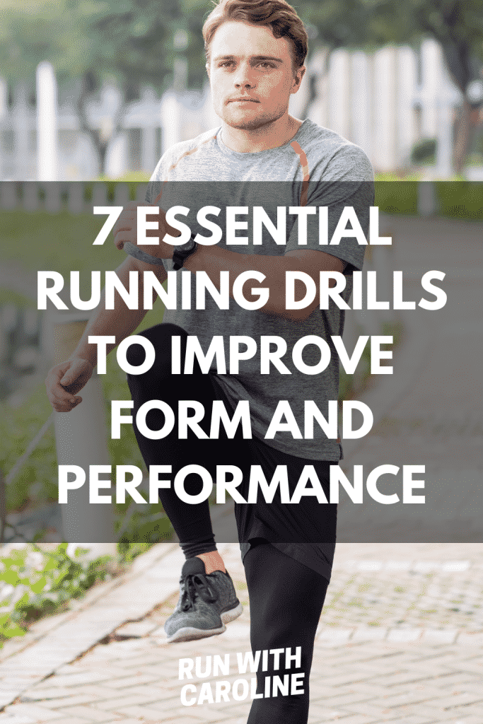 running drills to improve form