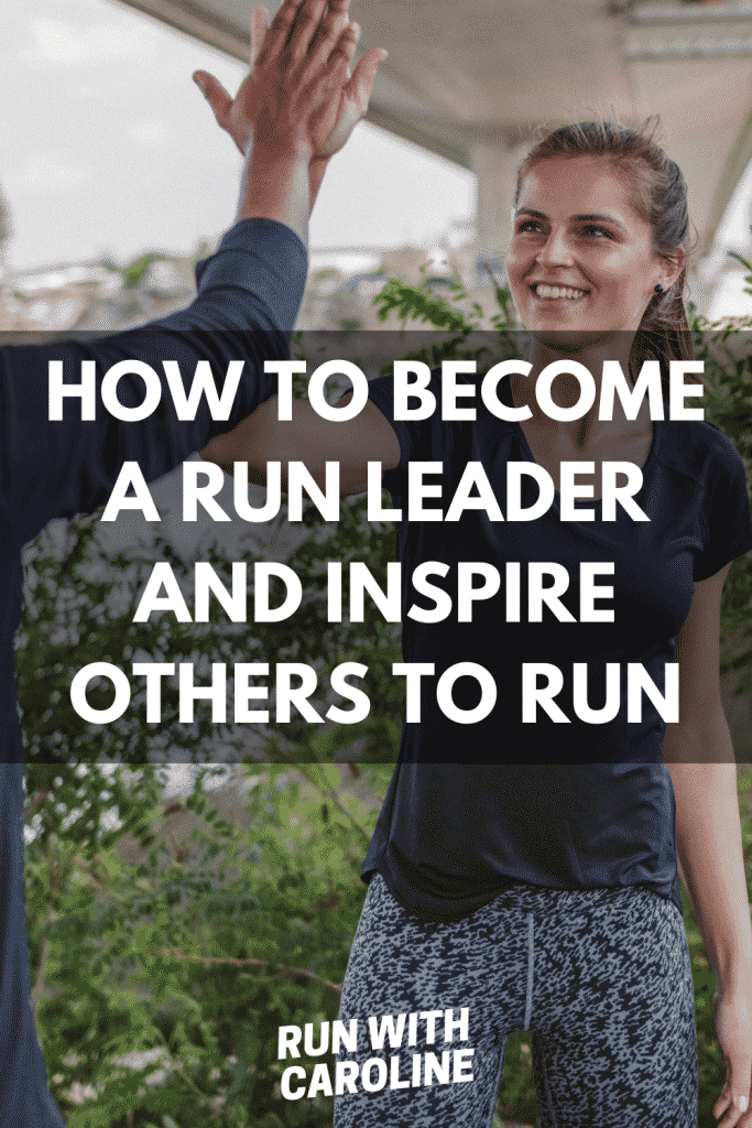How to become a run leader