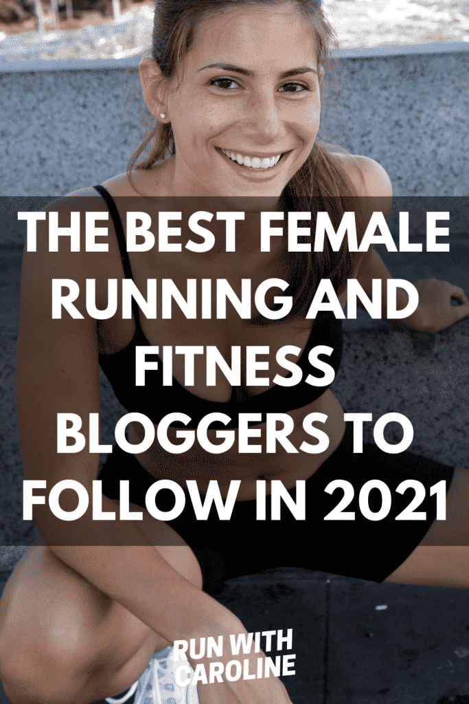 female running and fitness bloggers