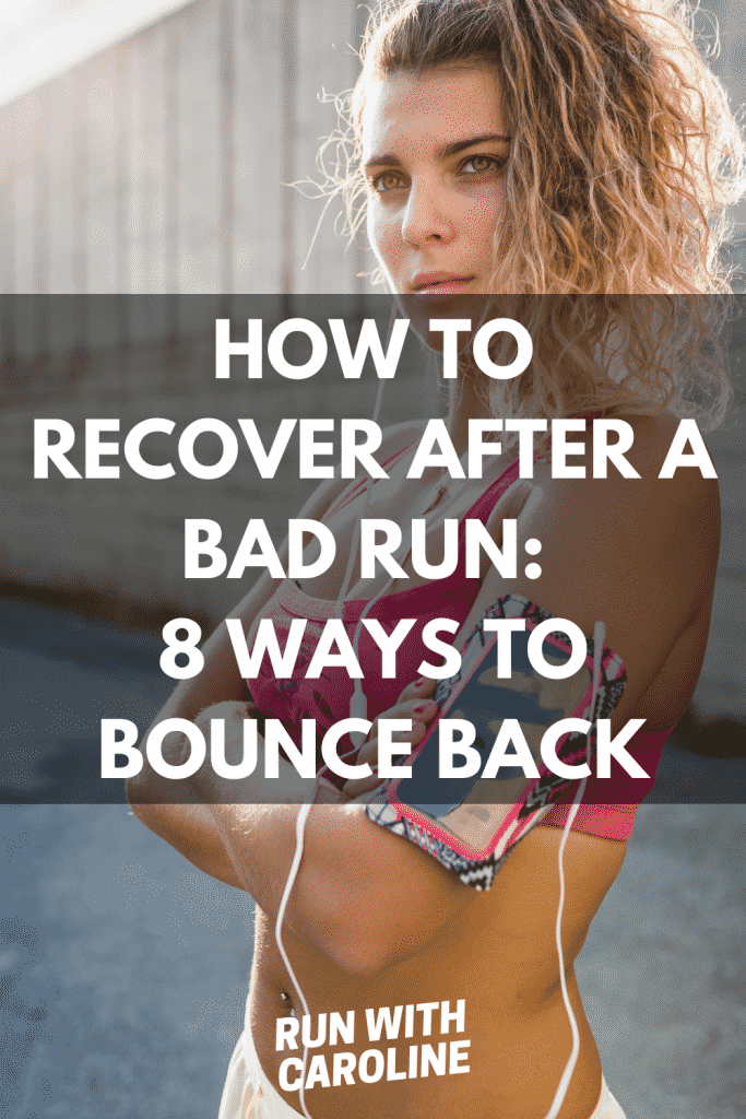 recover after a bad run