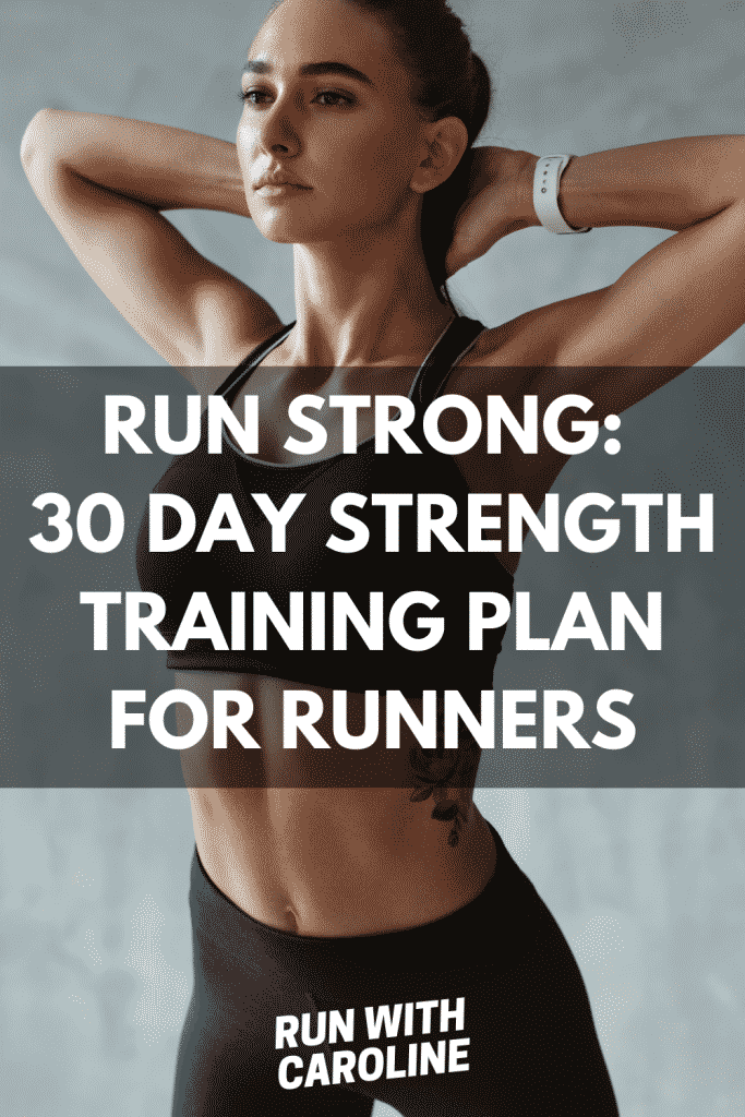30 day strength training plan for runners