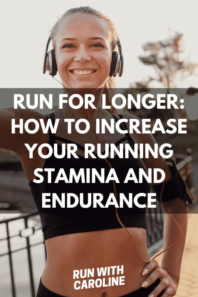 increase running stamina and endurance
