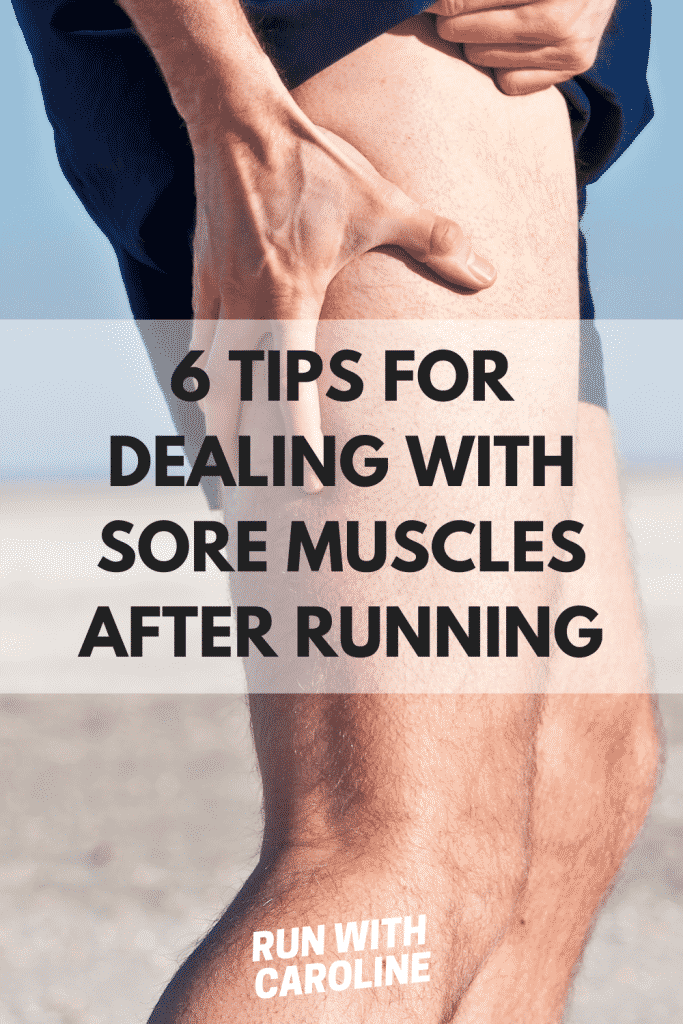 sore muscles after running
