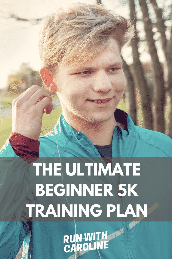 10 week beginner 5k training plan