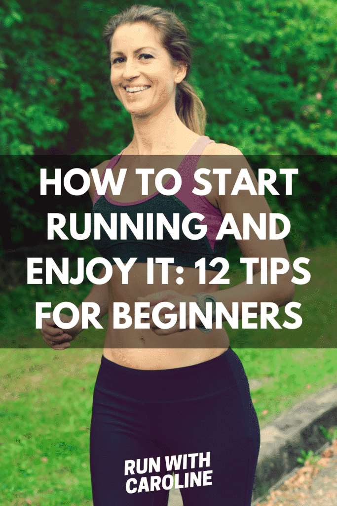 how to start running and enjoy it
