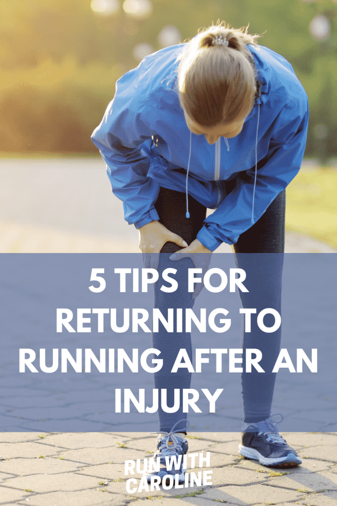 returning to running after an injury